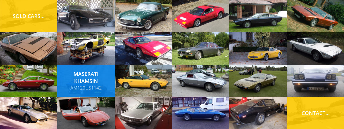 Website for writer and car collector